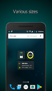 Widgets - CPU | RAM | Battery Screenshot