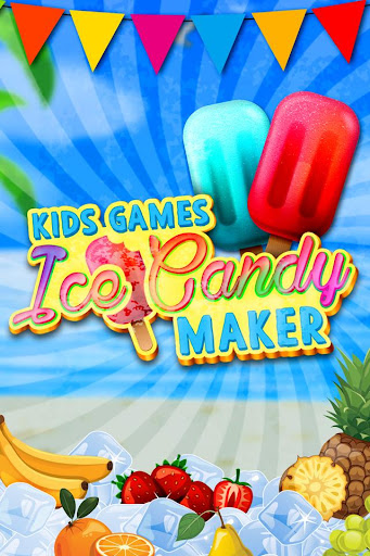 Ice Candy Maker - Kids Games