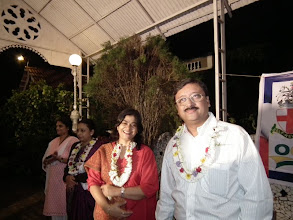 Photo: The other Murali Babu and his wife