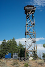 Photo: Wolf mountain watchtower