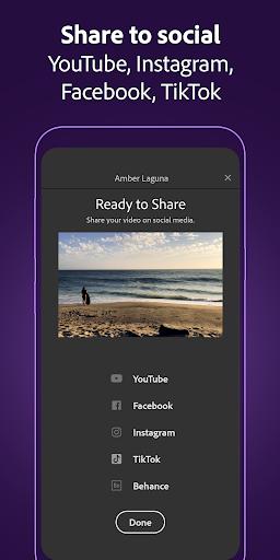 Adobe Premiere Rush u2014 Video Editor screenshots 4