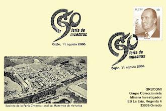 Photo: Matasellos de 50 aniversario de la Feria de Muestras de Gijón en 2006