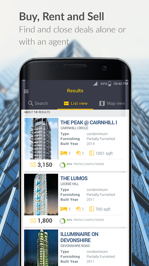 Popety - Buy & Rent Property- screenshot