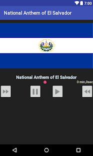 National Anthem of El Salvador - náhled