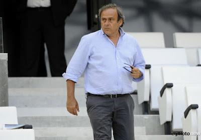 Platini candidat à la FIFA
