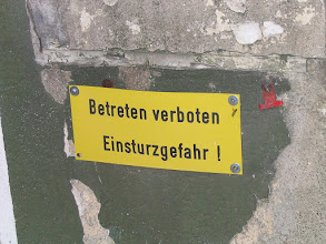 Photo: Betreten verboten