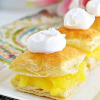 Lemon Curd Puff Pastries