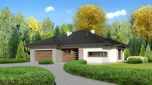 projekt Dom przy Pastelowej 2 bis