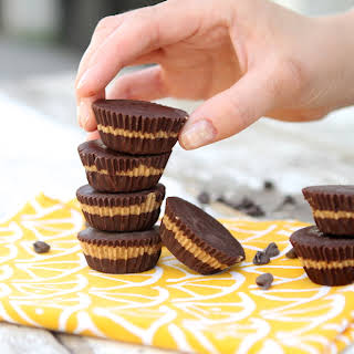 Chocolate Almond Butter Cups (Sugar Free).