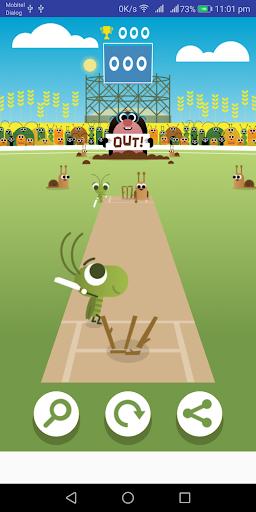 Mini ක්රිකට්... / Doodle Cricket - Sri Lanka screenshot 2