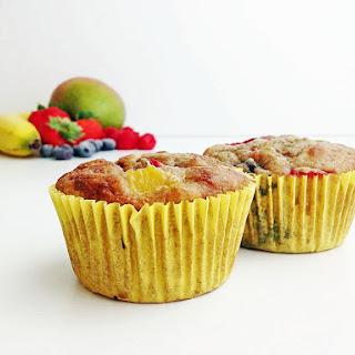 Healthy Smoothie Muffins.