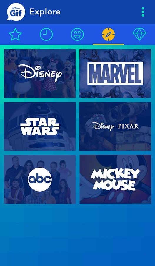 Disney Gif- screenshot