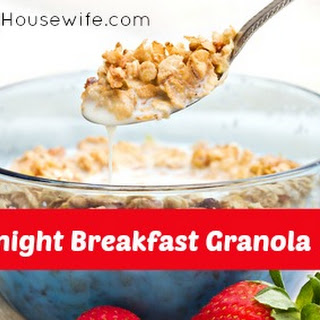 Overnight Breakfast Granola.