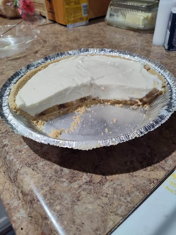 No Bake Banana Cheesecake