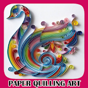 Paper Quilling Art by idak icon