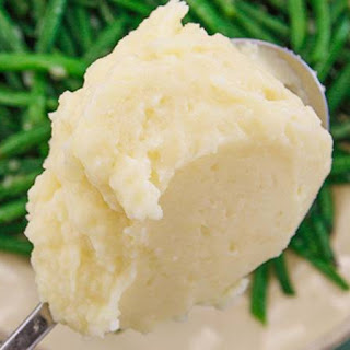 Mashed Potatoes and Parsnips.