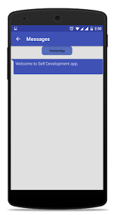 Self Development- screenshot thumbnail