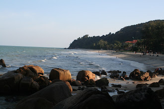 Photo: Teluk Chempedak Beach, nearby Kuantan town