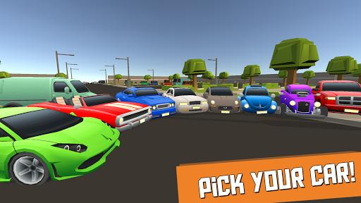 Code Triche Pedal, Gas, Clutch! - Car Chase Simulator  APK MOD (Astuce) screenshots 1