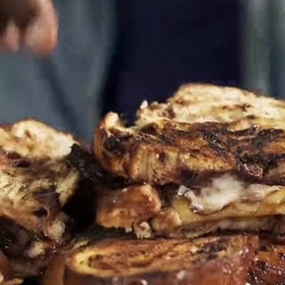 Nutella Banana Bacon Grilled Cheese.