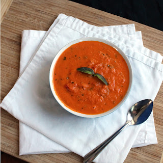 Roasted Tomato Basil Soup.