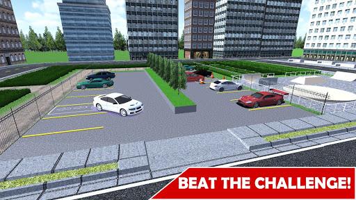 Car Parking: Real 3D Driving Test Car Game  captures d'écran 1