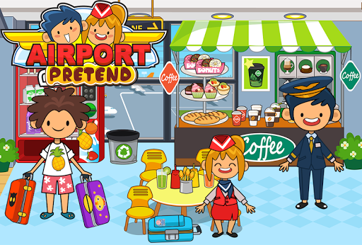 My Pretend Airport - Kids Travel Town Games  {cheat|hack|gameplay|apk mod|resources generator} 2