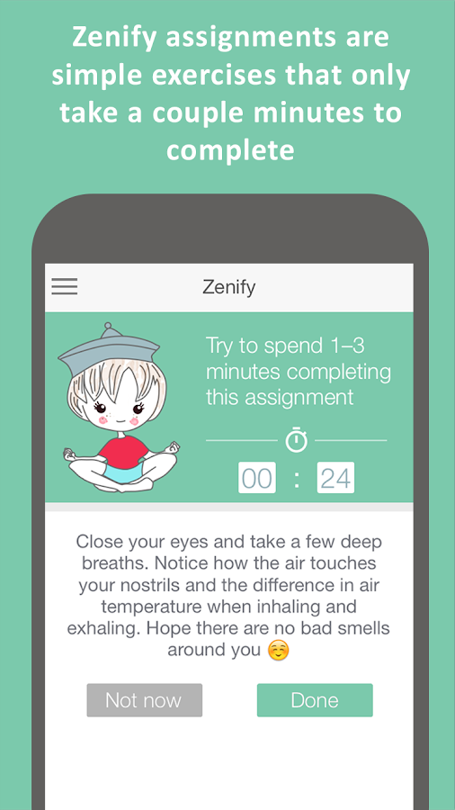 Zenify Premium - Meditation- screenshot