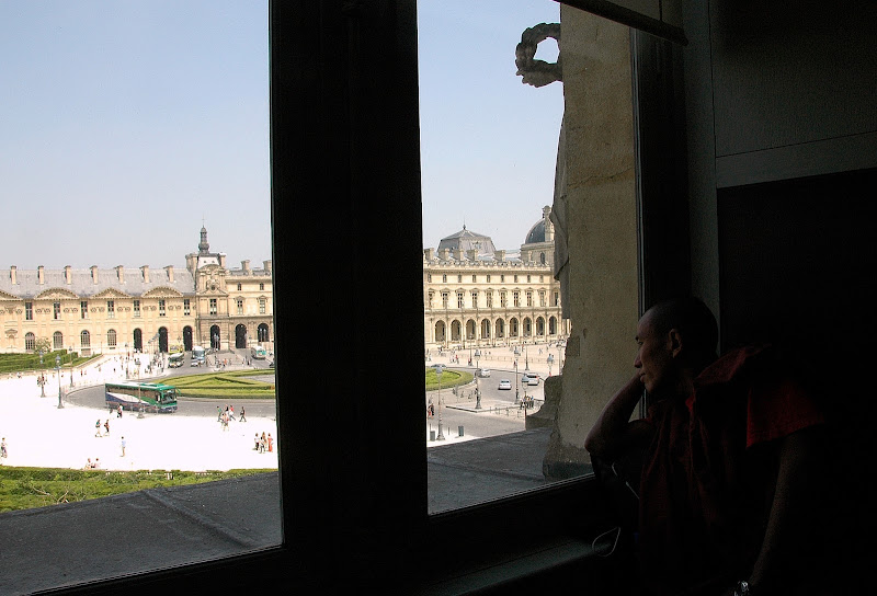 monaco buddista a Versailles di FLAVIO DI PERSIO
