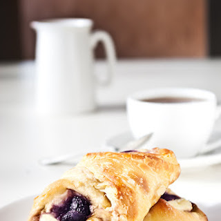 Blueberry Cheese Danishes