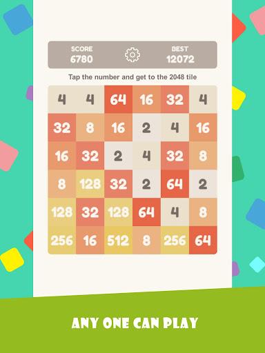 Tap 2048 - worldwide poplar game apkdebit screenshots 7