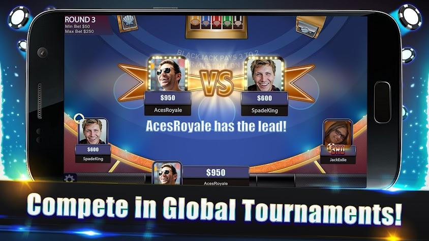 Blackjack Legends: 21 Online Multiplayer Casino Screenshot