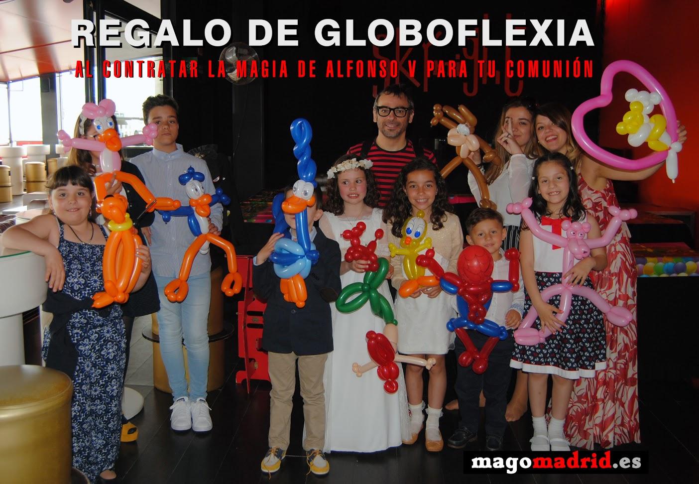magia y globoflexia en comuniones mago madrid