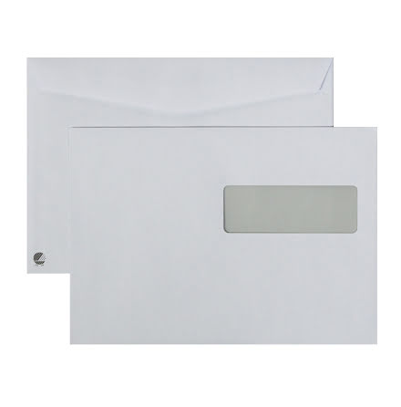 Kuvert C5 H2 vita FH    500/kt