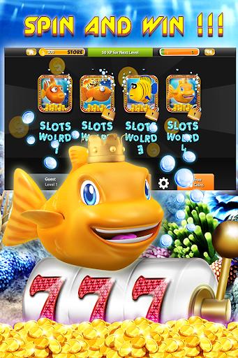 Gold Small Fish Casino Slot
