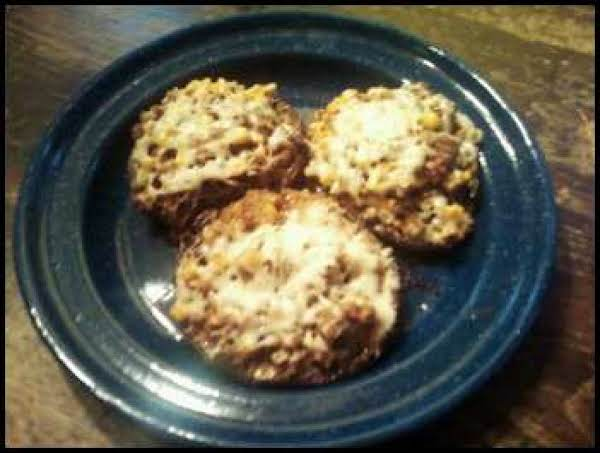 Stuffed Portabella Mushrooms With A Surprise