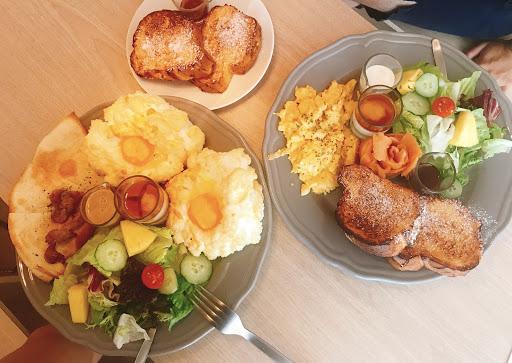 擺盤豐盛餐點精緻的早午餐 滿足味蕾 會想二訪的餐廳