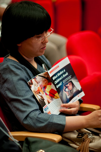 Photo: Audience at Publishing Perspectives' 2012 Children's Publishing Conference