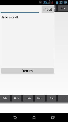C++ Compiler IDE  screenshots 2