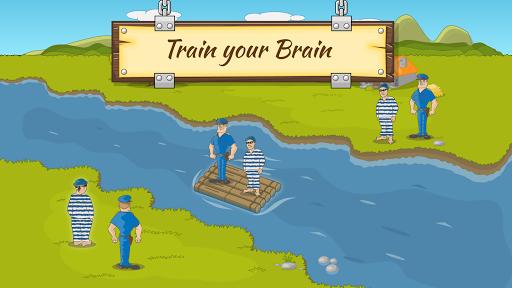 River Crossing IQ Logic Puzzles & Fun Brain Games 1.2.2 screenshots 4