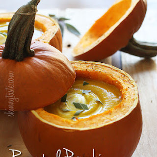Roasted Pumpkin Sage Soup