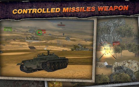 Wild tanks HD 1.25 Android Mod APK 3