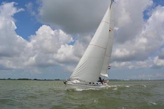 Photo: Foto's van Element onderweg naar Hoorn, gemaakt vanaf de Albatros van Arnoud