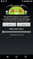 Screenshot of FMS - Audio delay