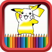 Coloring Book for Poke Monster