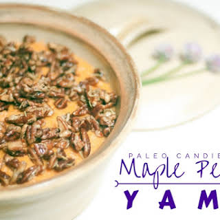 Candied Maple Pecan Yams.