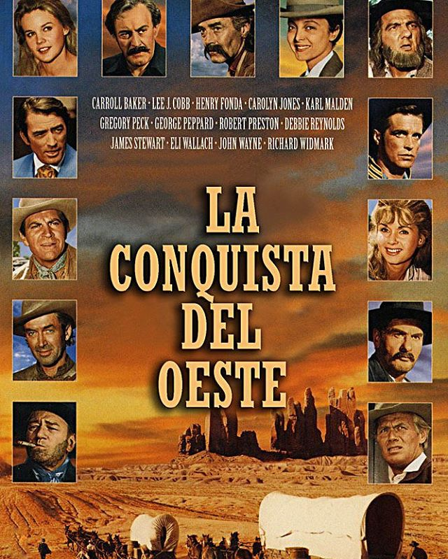 La conquista del Oeste (1962, John Ford, Henry Hathaway y George Marshall)
