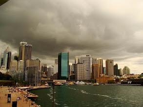 Photo: AUSTRALIE-Les tours de Sydney.