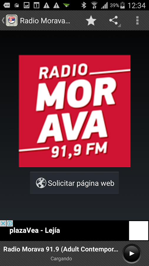 Radios Serbia- screenshot