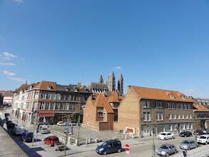 Photo: We steken de Schelde over